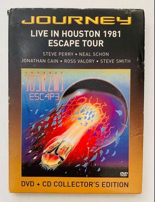 Journey - Live in Houston Collector's Edition CD+DVD