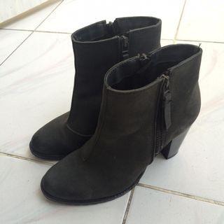 Mango Black Boots Original Authentic 100%, Genuine Leather, size 39 #ramadansale