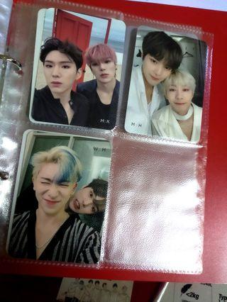 [WTS/WTT] MONSTA X UNIT PHOTOCARDS