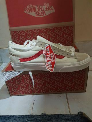 Vans marsmallow racing red