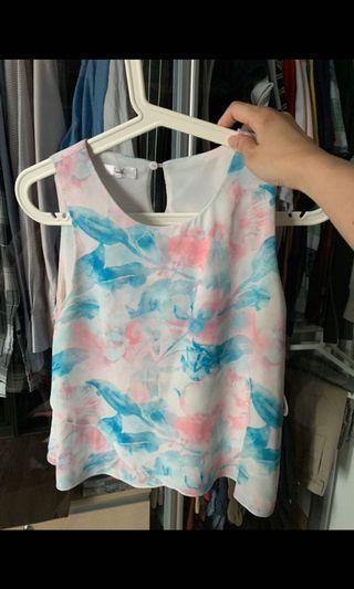 Fayth pastel top