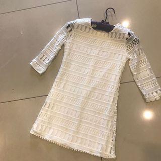 White lace dress (big sale)