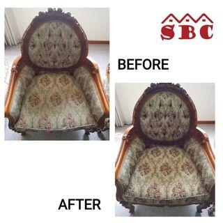 Chairs, carpet, sofa, mattress cleaning service