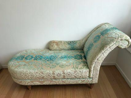 Laura Ashley Hereford fabric chaise
