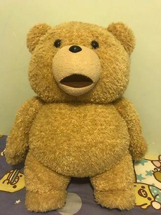 熊公仔 Ted 大公仔 賤熊 電影版發聲 100%正版