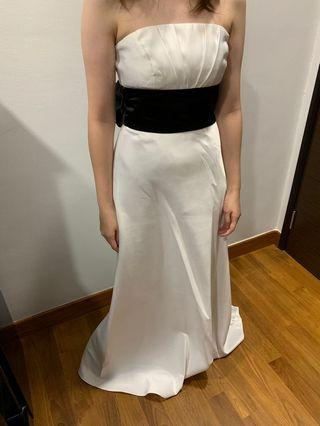 Preloved Designer White Tube Gown