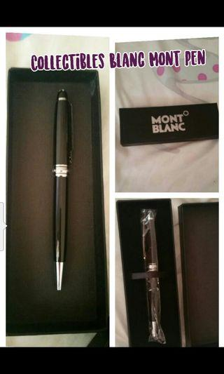 Collectibles Blanc Mont Pen (Open for Resellers)