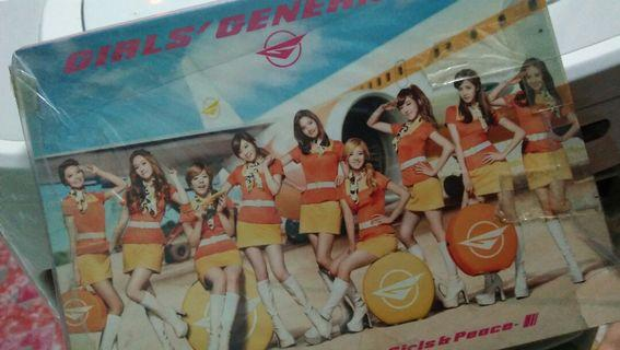 Girls Generation Girls and Peace Album (CD+DVD) Official