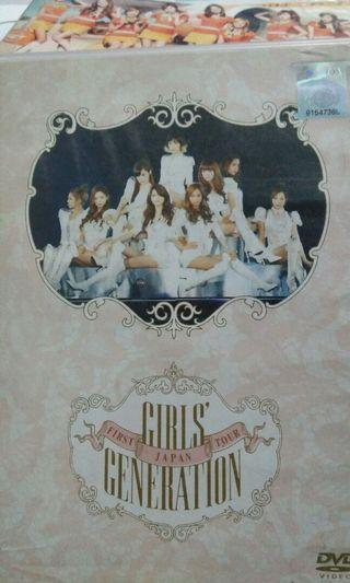 Girls Generation First Japan Tour DVD Official