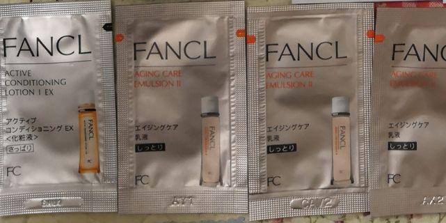 Fancl Sample 4pcs