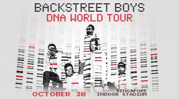 🚚 Backstreet boys DNA world tour 2019 Priority entry tickets