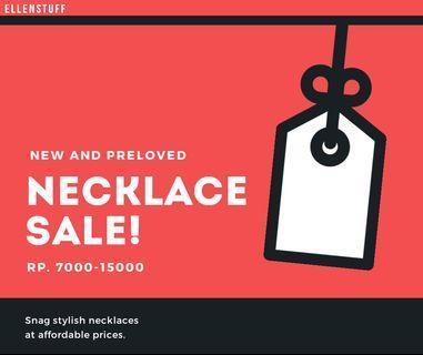 New/Preloved Necklace sale! (Cuma Rp. 7000-15000)