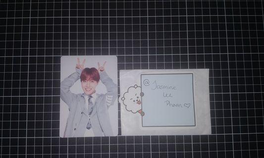 J-Hope 4th muster mini photocard