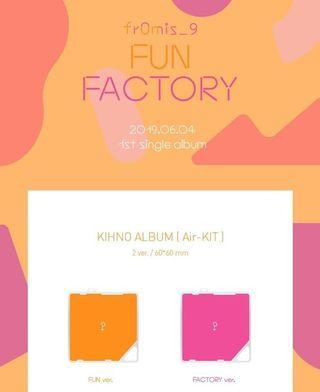 [PO/SHARING] Fromis_9 First Single Album - Fun Factory Khino Album