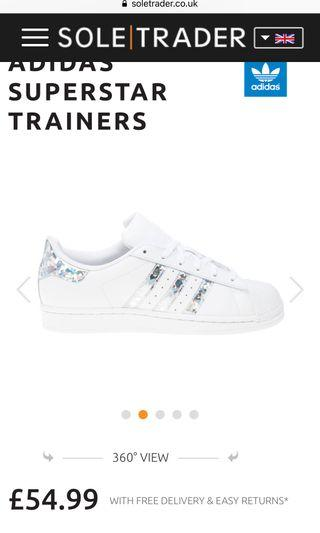 🚚 Adidas Superstar sneakers for kids