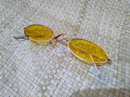Kacamata Vintage (Yellow)