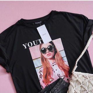 Tshirt fit to L