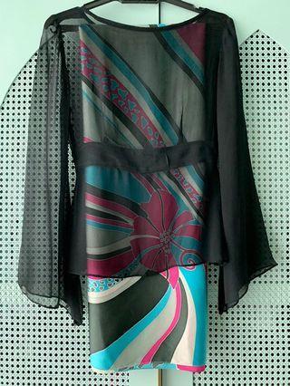 Custom Made Top & Batik Pario Set