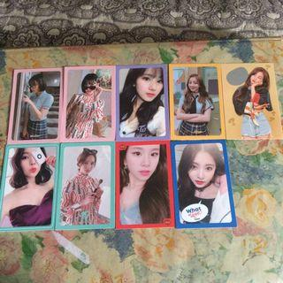 (WTS) TWICE WIL PHOTOCARDS