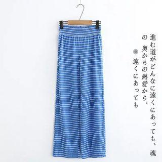 外貿尾單~條紋棉質褲現貨