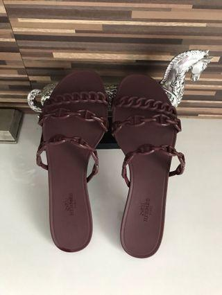 Hermes Rivage jelly sandals