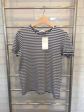 Zara Striped T-Shirt Size S BRAND NEW