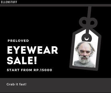 Eyewear Sale! Kacamata ketje! (Starts from Rp15.000)