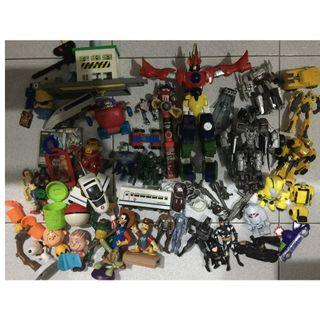 Sale repriced Assorted toy lot