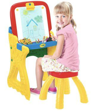 Crayola Fold and Go art studio (with stool)