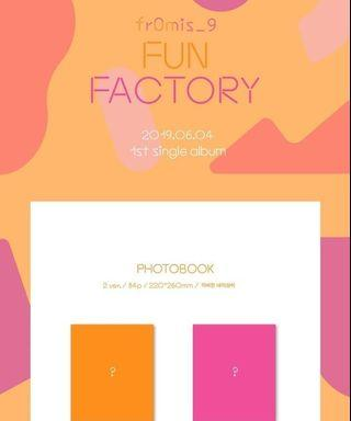 [NON-PROFIT EMS PO] Fromis_9 Single Album Vol. 1 - Fun Factory (Internal Trading)