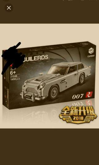 aston martin james bond 007 race car