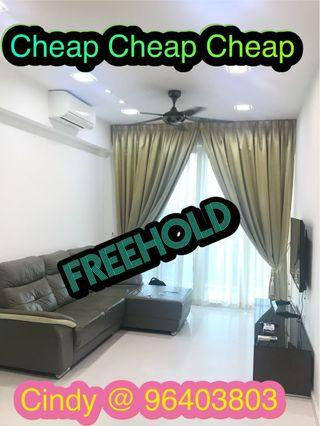 Good buy! FREEHOLD! 2beded Vacanza @ East!
