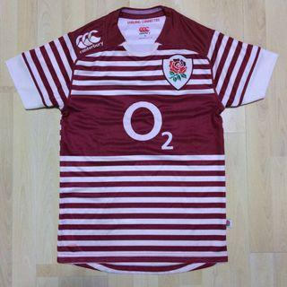 Canterbury England Rugby Jersey