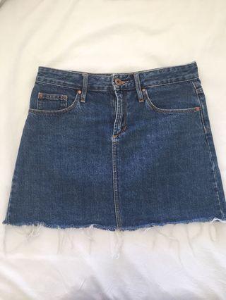 Articles of Society Denim Skirt Size 8/26