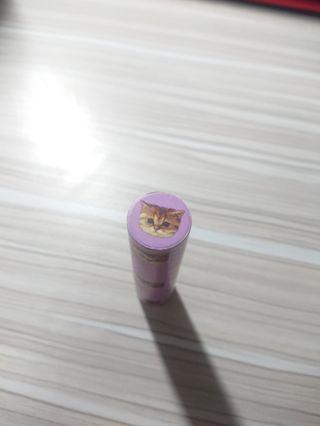 PAUL&JOE西洋菊保濕唇膏 自然207+粉紫貓限量唇膏盒048