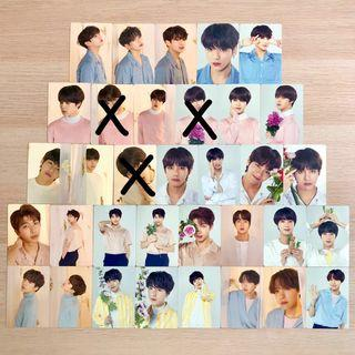 BTS X OFFICIAL 28381 Mini Photocard Photo Card PC Love Yourself LY World Tour in Singapore SG Concert Individual Member Photocard