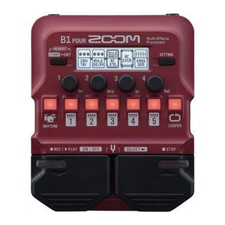 Zoom B1 FOUR Multi Effects (Pre-order only)