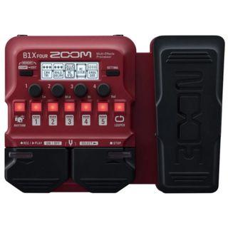 Zoom B1X FOUR Multi Effects (Pre-order only)