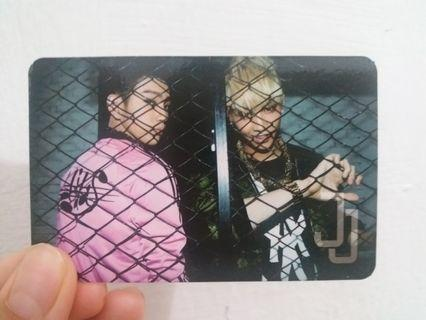 [RESERVED] GOT7/JJ PROJECT OFFICIAL BOUNCE PHOTOCARD