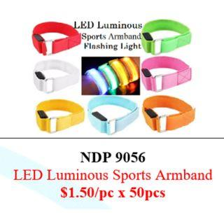 LED Luminous Sports Armband $75/50pcs