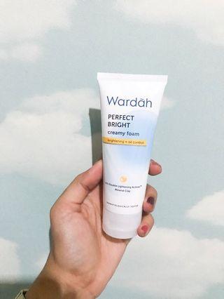 Wardah Perfect Bright Creamy Foam