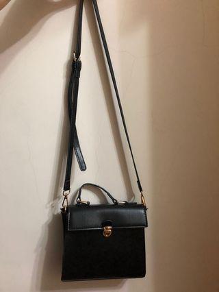 我的瑪格麗特|黑色時尚|方包/小包/斜背包/手拿包/兩用包