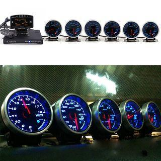 Defi ZD with control unit and turbo gauge set up