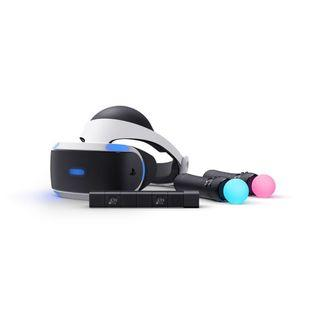 Playstation VR Headset + Camera + Motion Controllers
