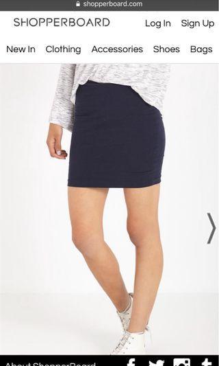 bnwt cotton on kn mini tube skirt