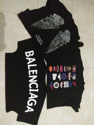 Kaos Preorder Balenciaga Bape Marcelo Burlon