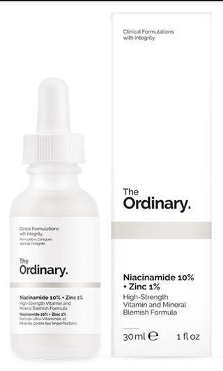 🚚 The Ordinary Niacinamide 10% + Zinc 1% 30ml