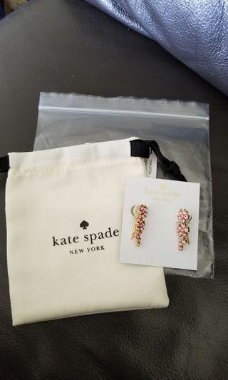 🚚 Kate Spade Flower ear pins