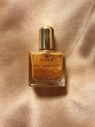 NUXE Multi Purpose Dry Oil Face Body Hair