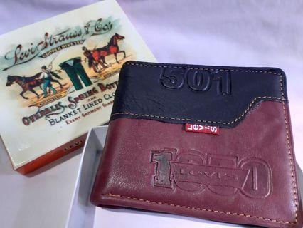Dompet Levis 501 genuine leather